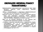 obowi zek niesienia pomocy humanitarnej4