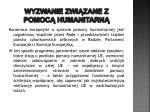 wyzwanie zwi zane z pomoc humanitarn6