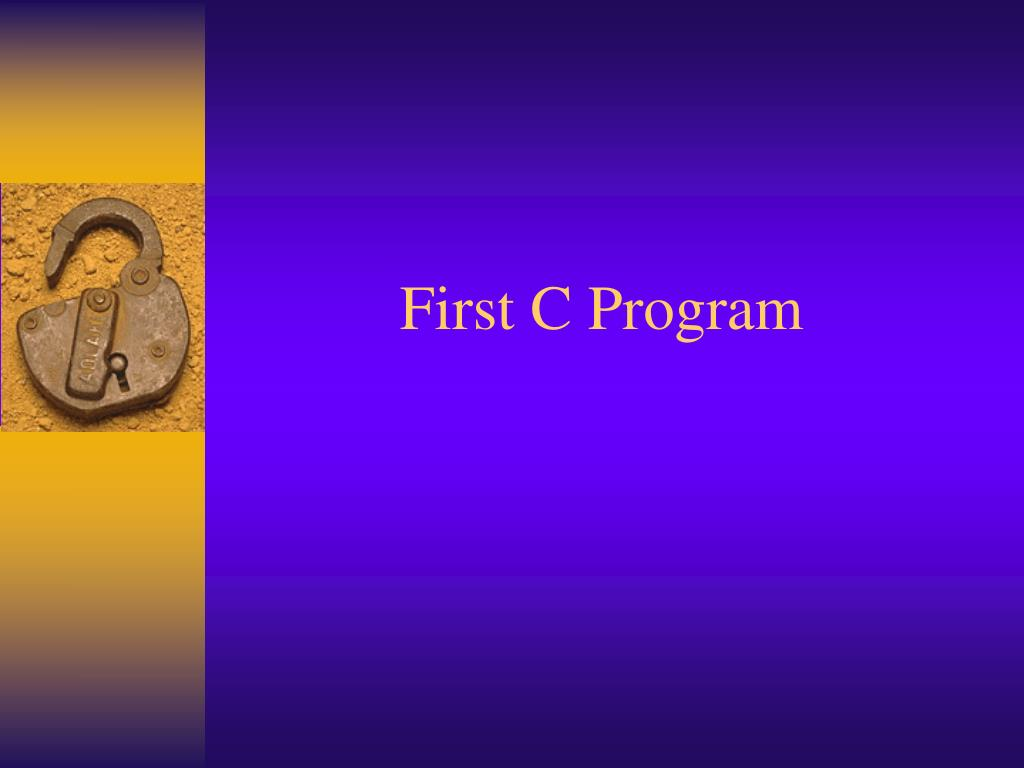 PPT - Introduction to C Programming PowerPoint Presentation