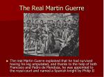the real martin guerre