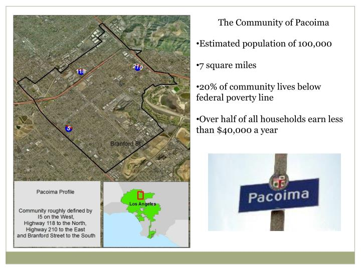The Community of Pacoima