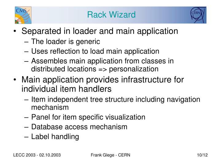 Rack Wizard