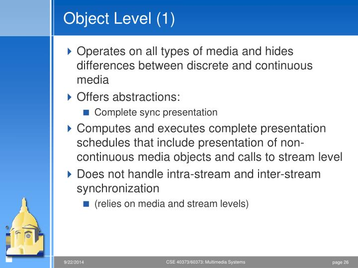 Object Level (1)