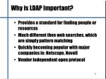 why is ldap important