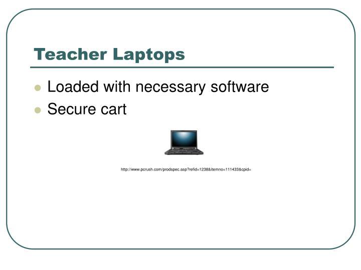 Teacher Laptops