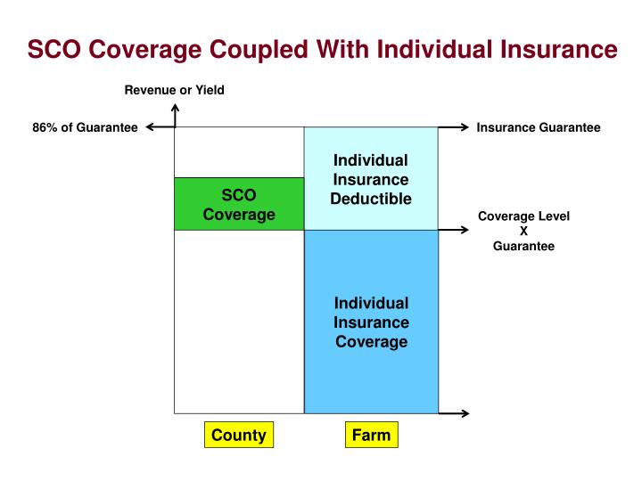 SCO Coverage Coupled With Individual Insurance