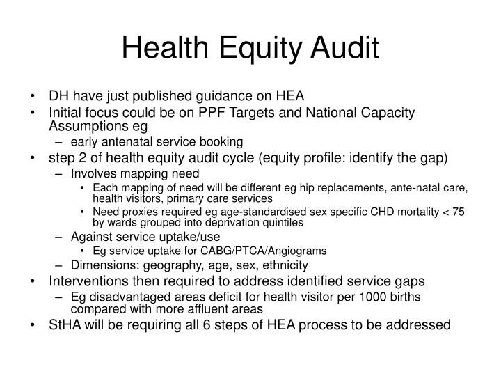 Health equity audit1