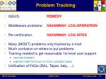 problem tracking