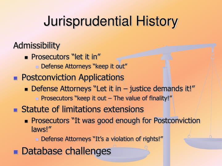 Jurisprudential History