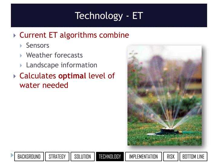 Technology - ET