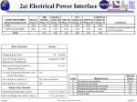 2a electrical power interface