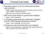 7 potential trade studies