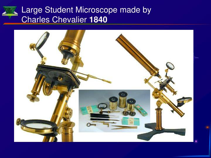 Large Student Microscope made by