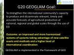 g20 geoglam goal