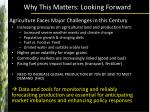 why this matters looking forward