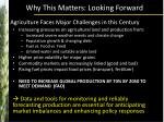 why this matters looking forward1