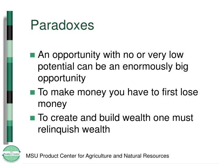 Paradoxes
