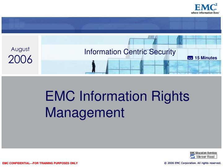 information centric security n.