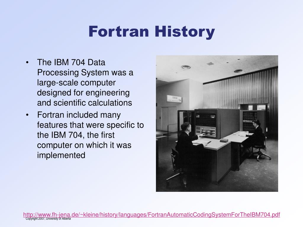 PPT - Introduction to Fortran PowerPoint Presentation - ID:4707346