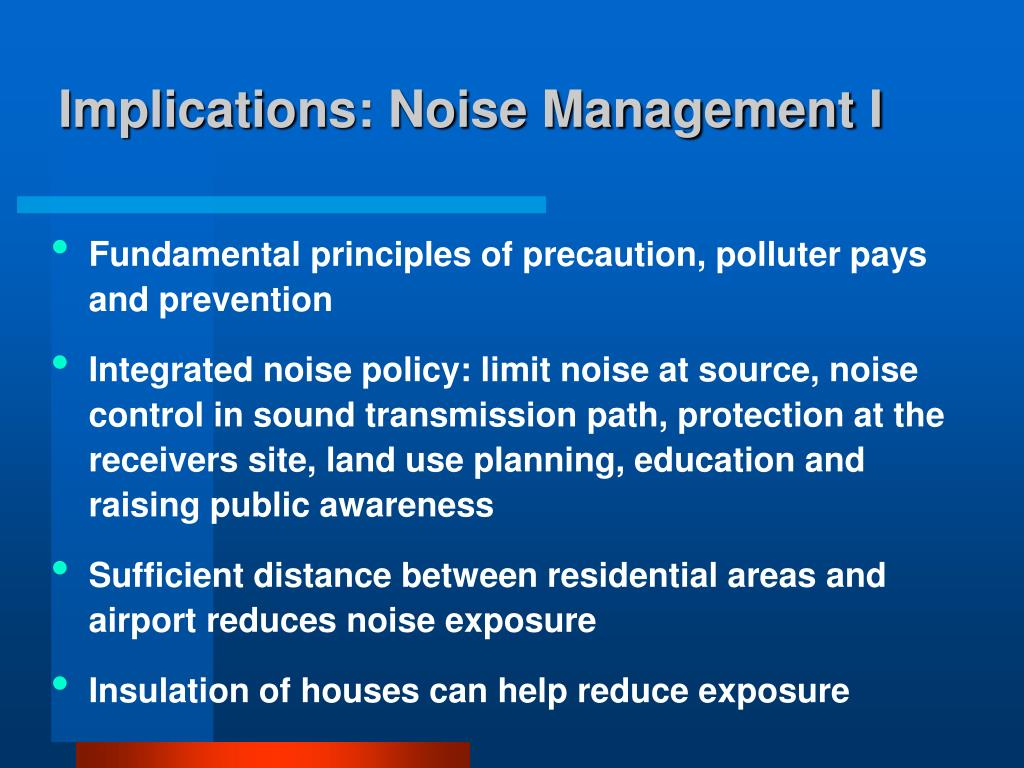 PPT - Aircraft Noise as a Public Health Problem PowerPoint