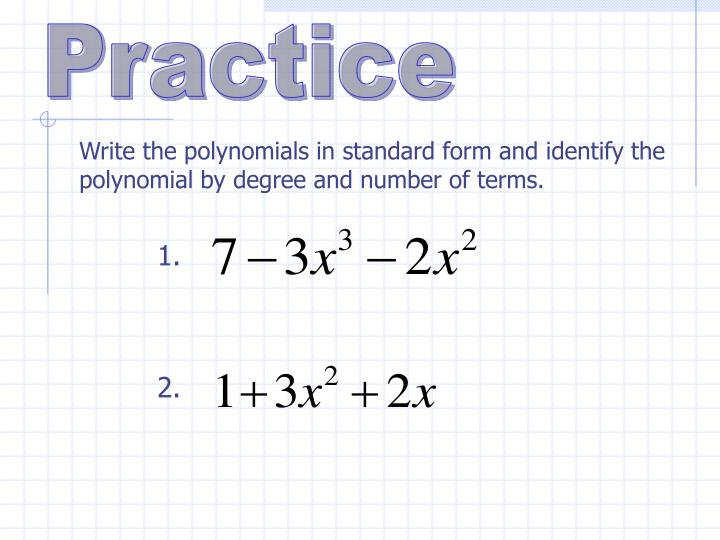 Ppt Polynomials Powerpoint Presentation Id4707772