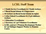 lcrl staff team1
