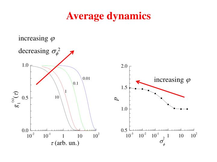 Average dynamics