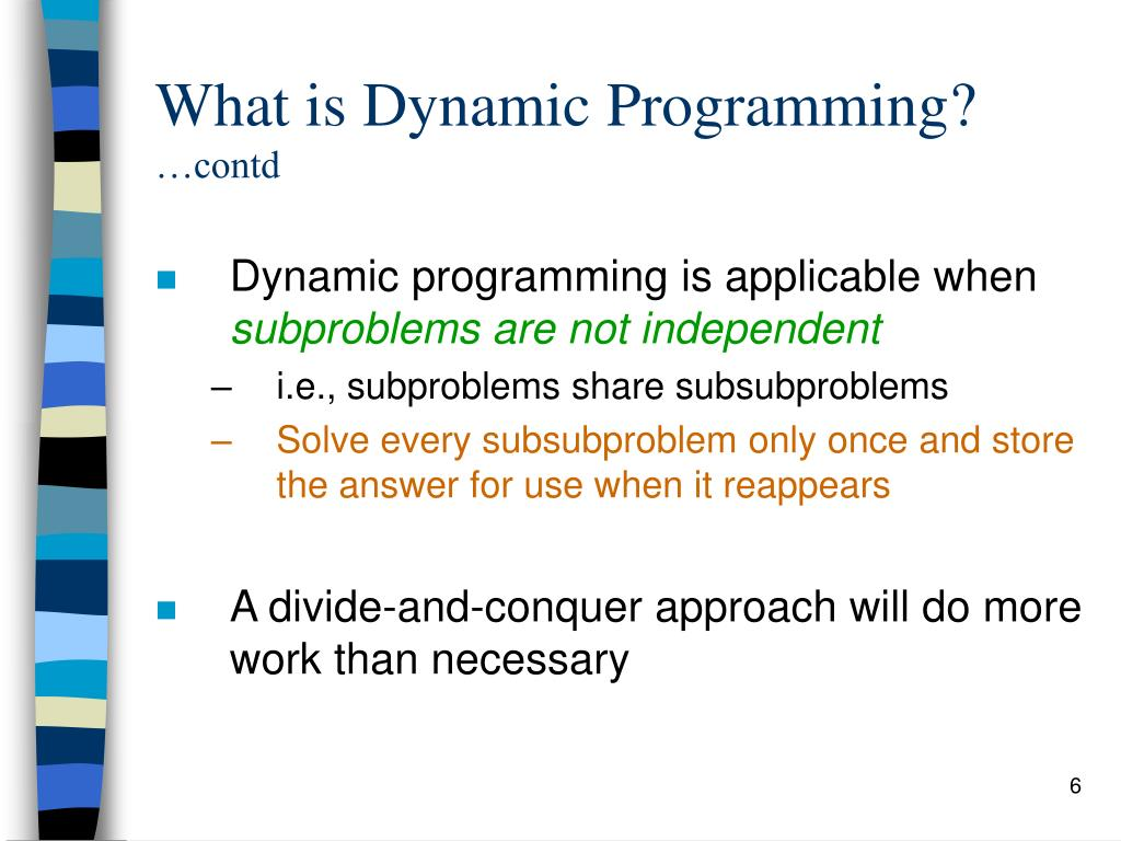 how to solve dynamic programming problems
