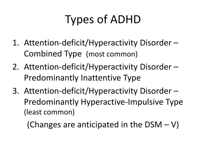 attention defecit hyperactivity disorder Attention deficit / hyperactivity disorder (adhd) is a brain disorder it is characterized by an ongoing pattern of inattention and/or impulsivity and hyperactivity-impulsivity that interferes with functioning or development inattention and hyperactivity / impulsivity are the key behaviors of adhd.