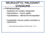 neuroleptic malignant syndrome2