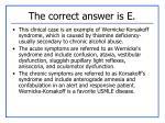 the correct answer is e2