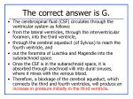 the correct answer is g