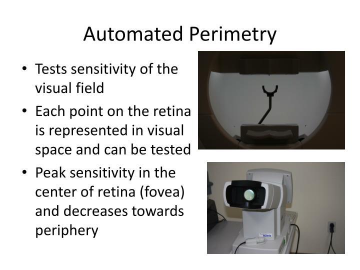 Automated Perimetry