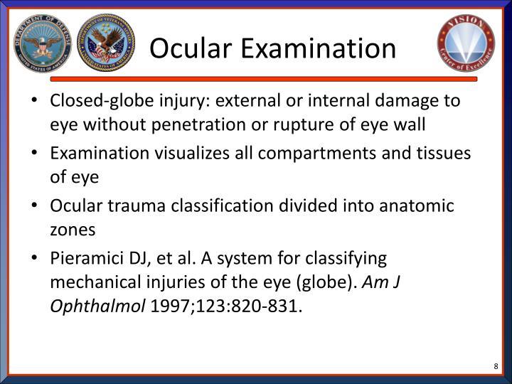 Ocular Examination