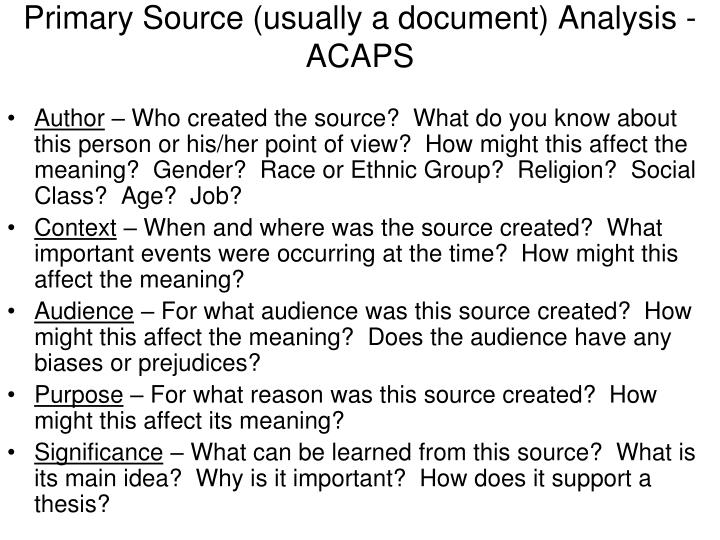 primary source for essay We live in an age overflowing with sources of information with so many information sources at our fingertips, knowing where to start, sorting through it all and finding what we want can be overwhelming.