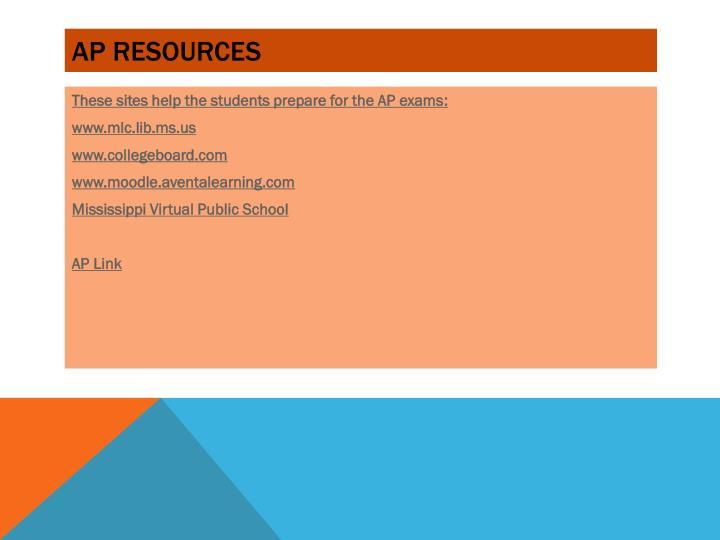 AP Resources