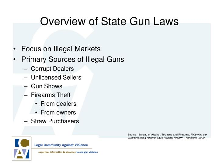 Overview of State Gun Laws