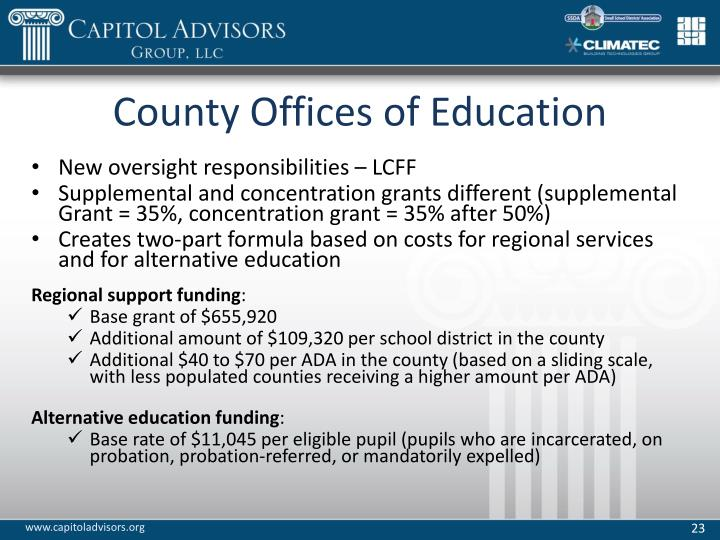 County Offices of Education