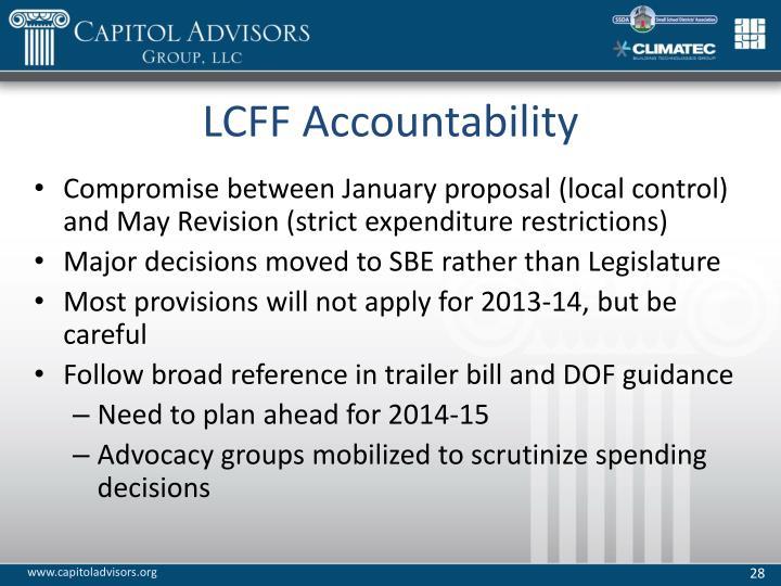 LCFF Accountability