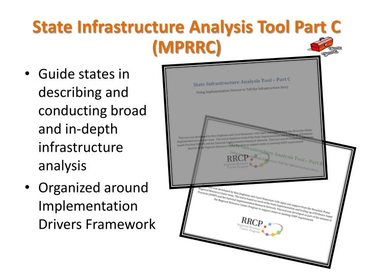 State Infrastructure Analysis Tool Part C