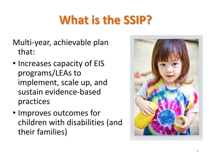 What is the SSIP?