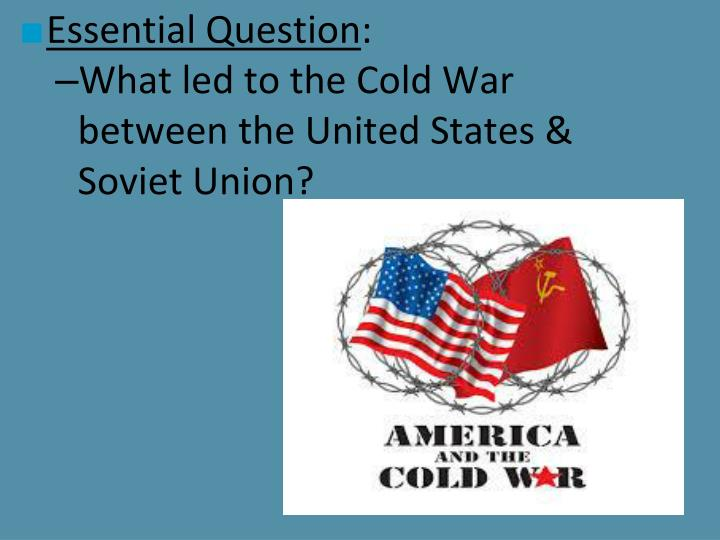 compare and contrast the united states and the soviet union Compare russia vs united states as the successor of the soviet union  retrieved from .