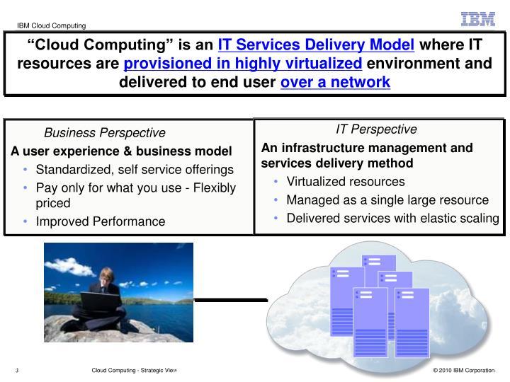 """""""Cloud Computing"""" is an"""