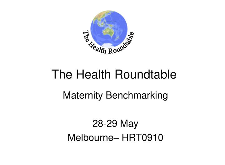 the health roundtable n.