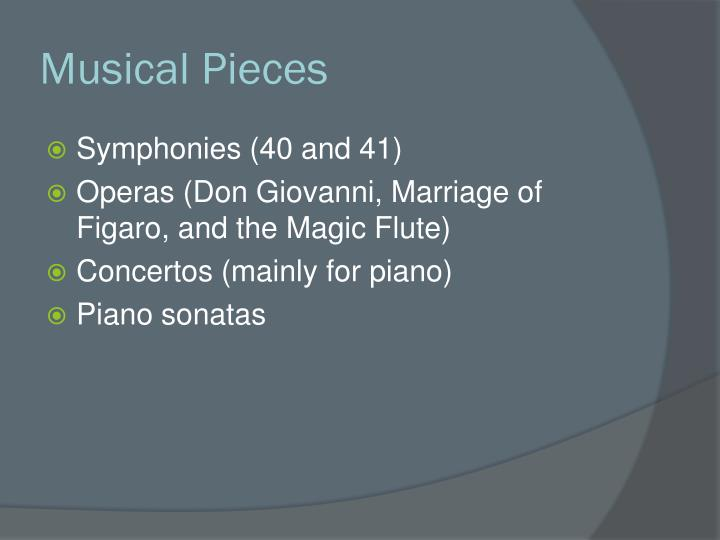 Musical Pieces