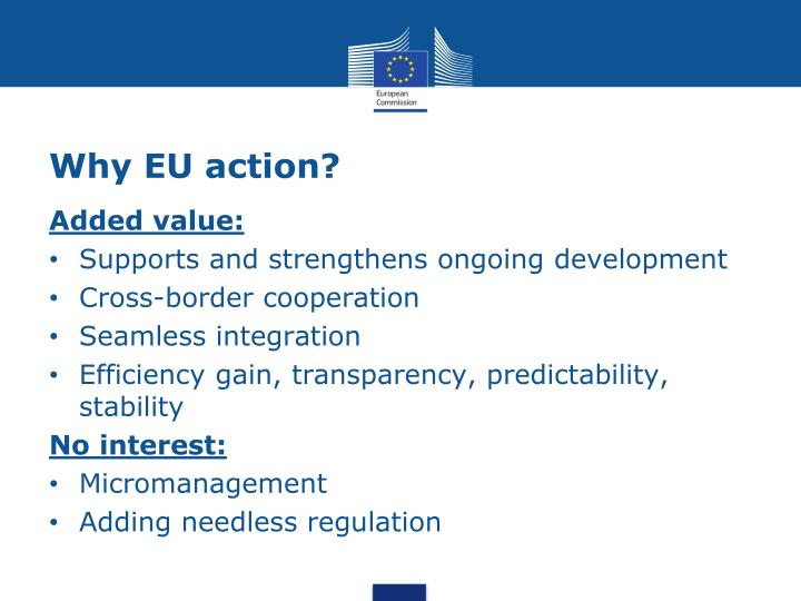 Why EU action?