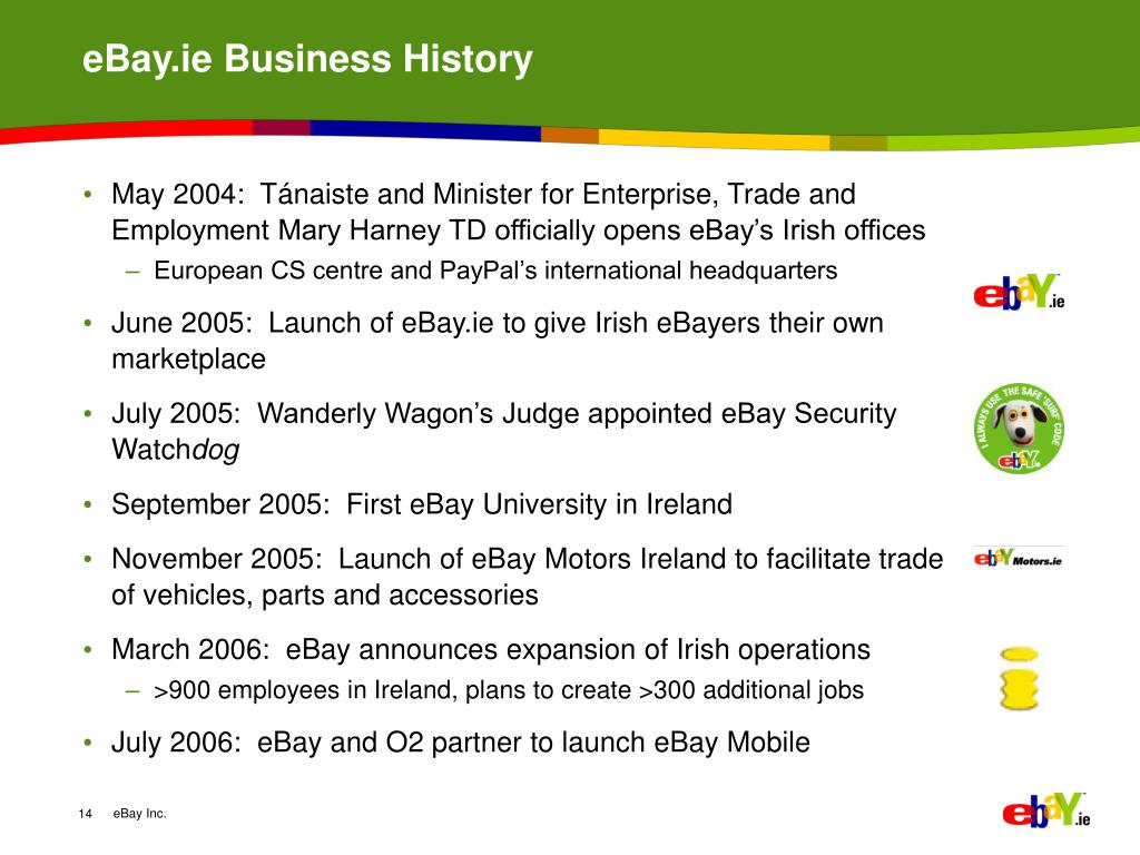Ppt Ebay Ie Our Role In Irish Ecommerce Powerpoint Presentation Free Download Id 4710347