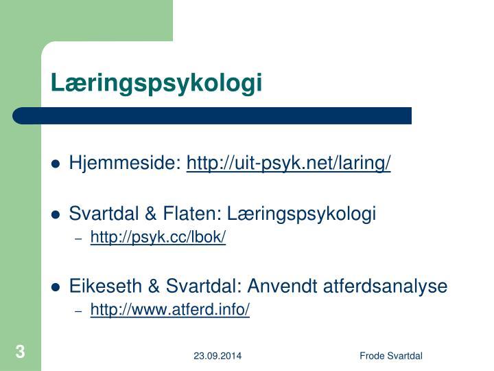 L ringspsykologi