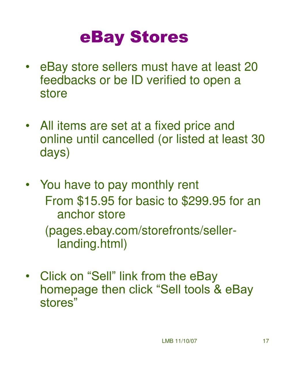 Ppt Selling On Ebay Powerpoint Presentation Free Download Id 4710469