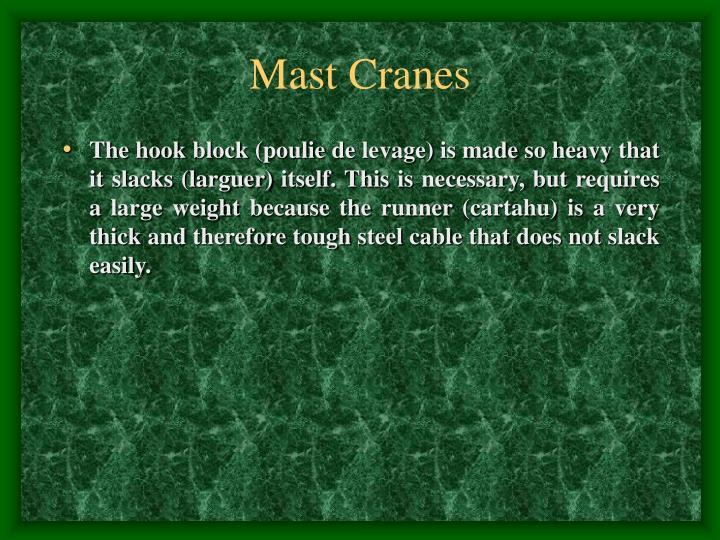Mast Cranes